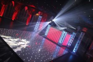 Wedding DJ and Dance Floor